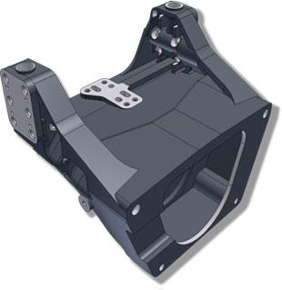 Model 3D części wykonany w Inventor LT