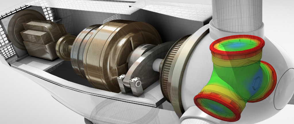 Wnętrze maszyny w Autodesk Inventor Professional
