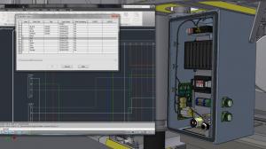 Integracja schematów 2D AutoCAD Electrical z modelem instalacji 3D w Autodesk Inventor