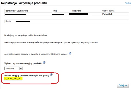 Rejestracja i aktywacja produktu