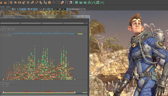 Wydajność animacji w Maya 2016