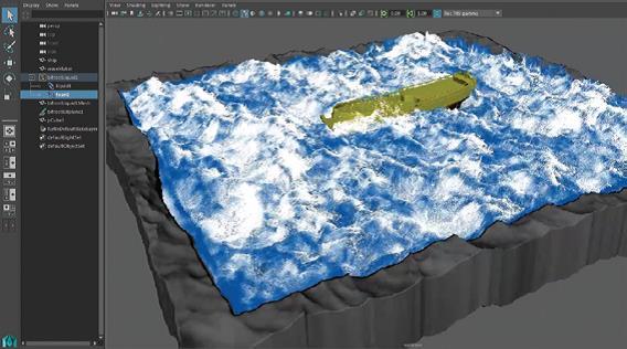 Symulacje sterowane w Bifrost w Maya 2016