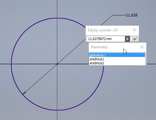Inventor parametryzacja