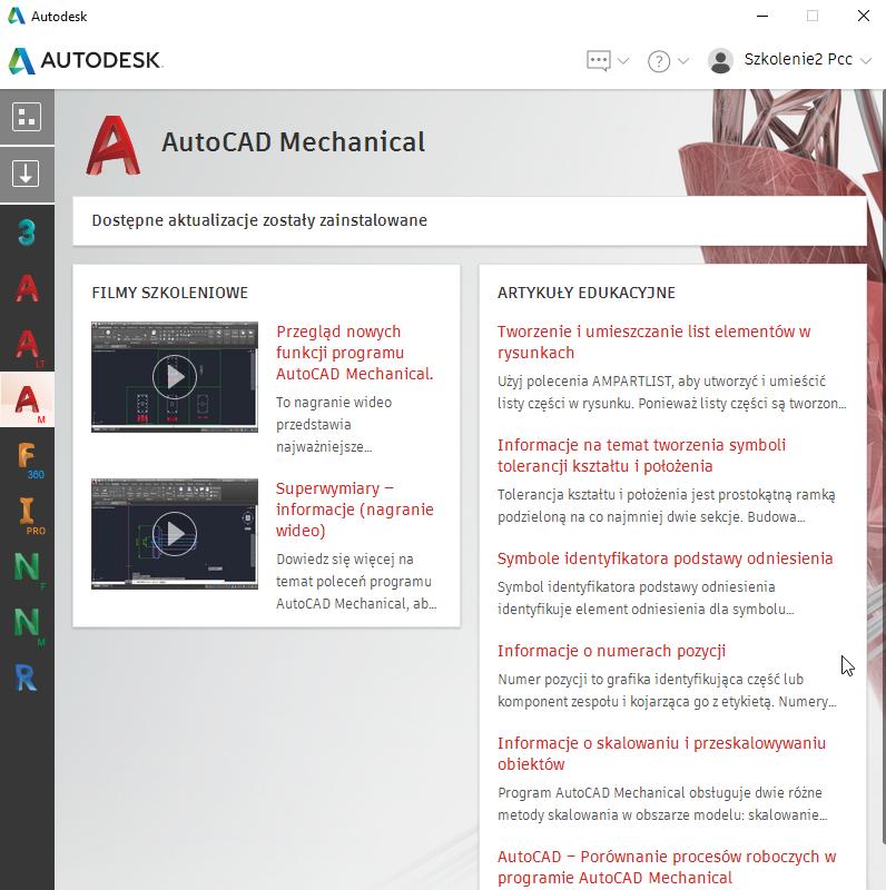 Autodesk Desktop App - aplikacja na pulpit - PCC Polska