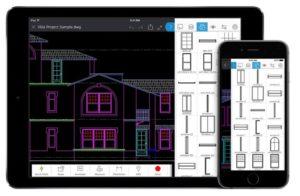 Aplikacja mobilna AutoCAD Mobile App