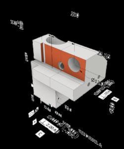 Projekt 3D z wymiarowaniem Autodesk Inventor Professional