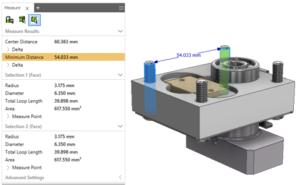 Mierzenie w Autodesk Inventor Professional 2018