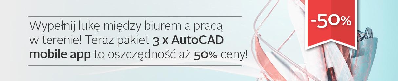 sklep banner Autocad mobile app promo