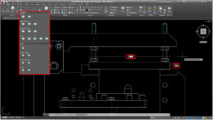 Łatwiejsze rysowanie prostokątów AutoCAD Mechanical