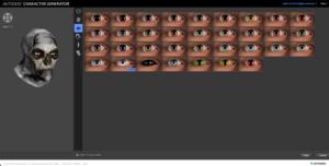 konfiguracja oczu
