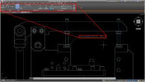 Poprawa czytelności linii odniesienia AutoCAD Mechanical