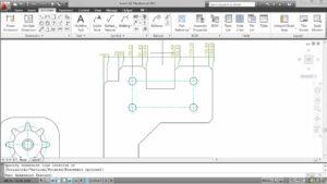 Automatyczne wymiarowanie w AutoCAD Mechanical