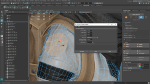Polygon Circularize Options Maya LT