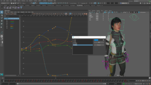Graph Editor Maya LT