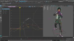 Edycja animacji Maya LT