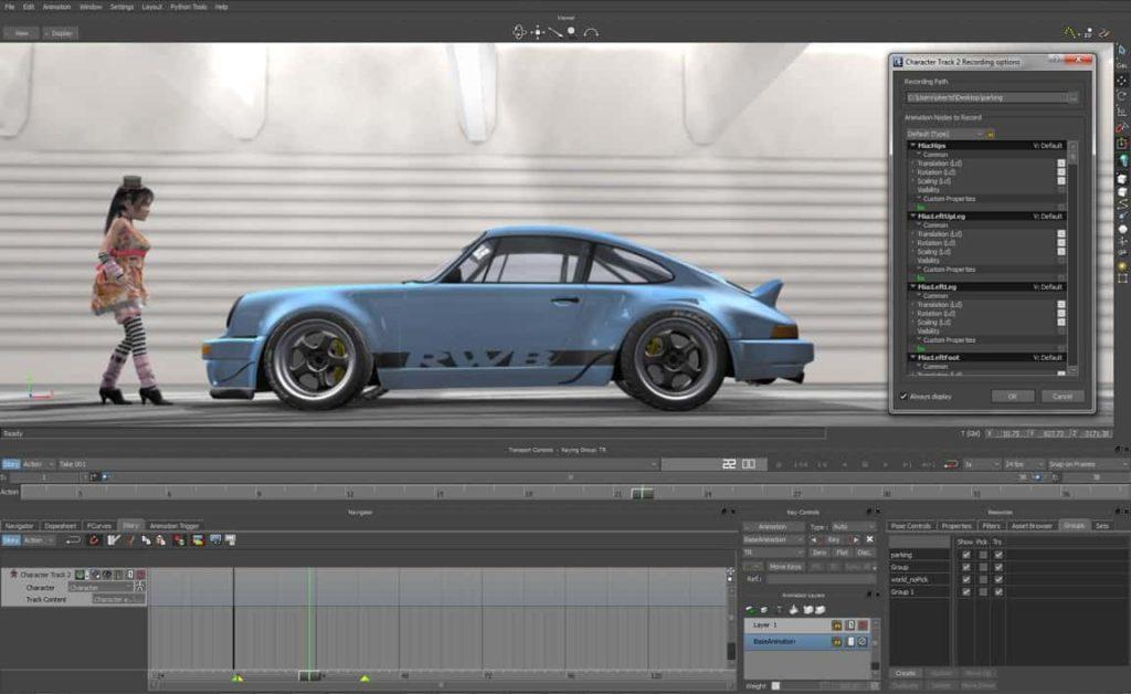 Wykorzystanie Motioncapture w MotionBuilder 2