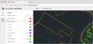Aplikacja webowa AutoCAD Web App