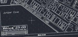 Projekt wykonany w AutoCAD Raster Design