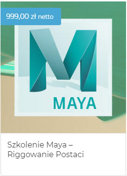 Szkolenie-Maya-riggowanie