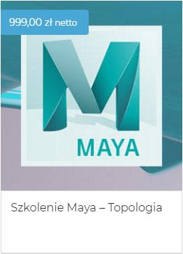 Szkolenie Maya Topologia