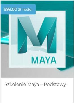 Szkolenie Maya podstawy