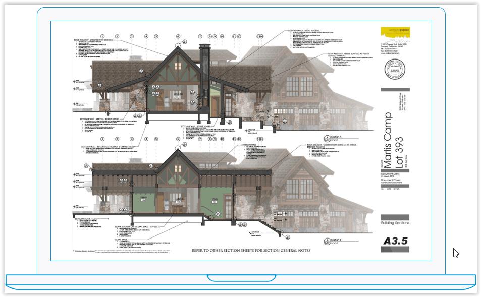 Model domu w SketchUp