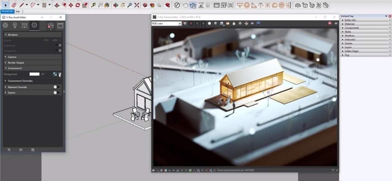 Projekt w SketchUp 1