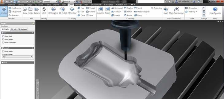 Oprogramowanie Autodesk Inventor CAM