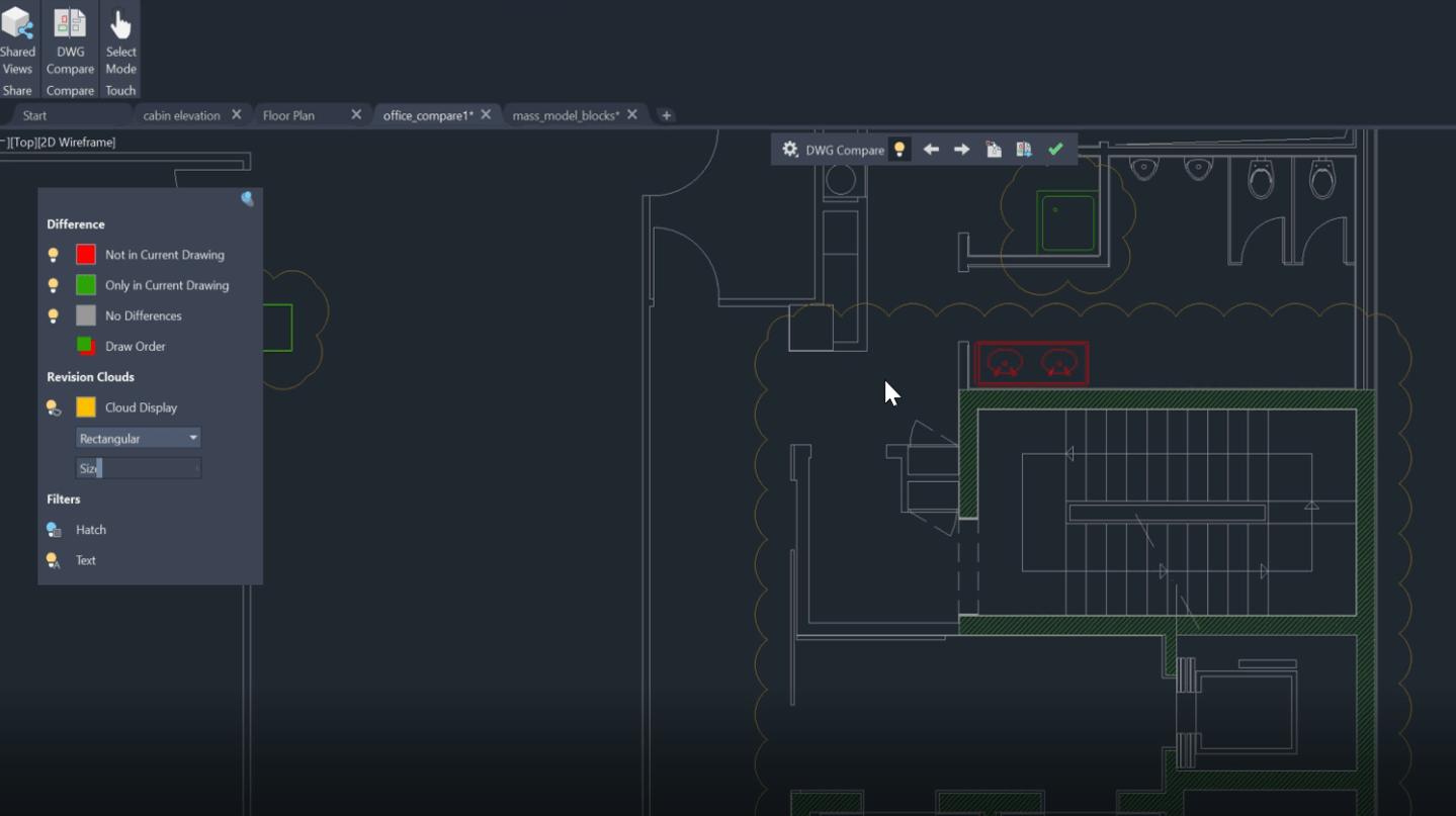 Ulepszona porównywarka plików DWG w AutoCAD 2020