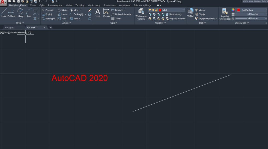 Autocad – Funkcja Torient (1)