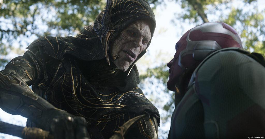 Animacja z MoCap w Avengers Infinity War