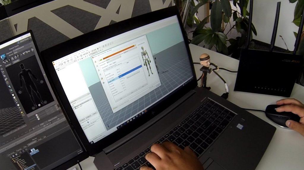 1 Konfiguracja Xsens z MotionBuilder