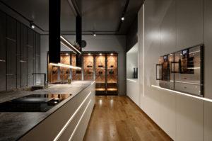 The Frame wizualizacja kuchni