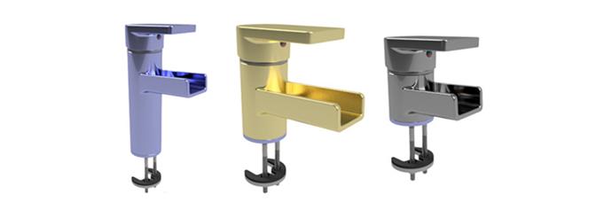 Obiekty BIM – baterie łazienkowe