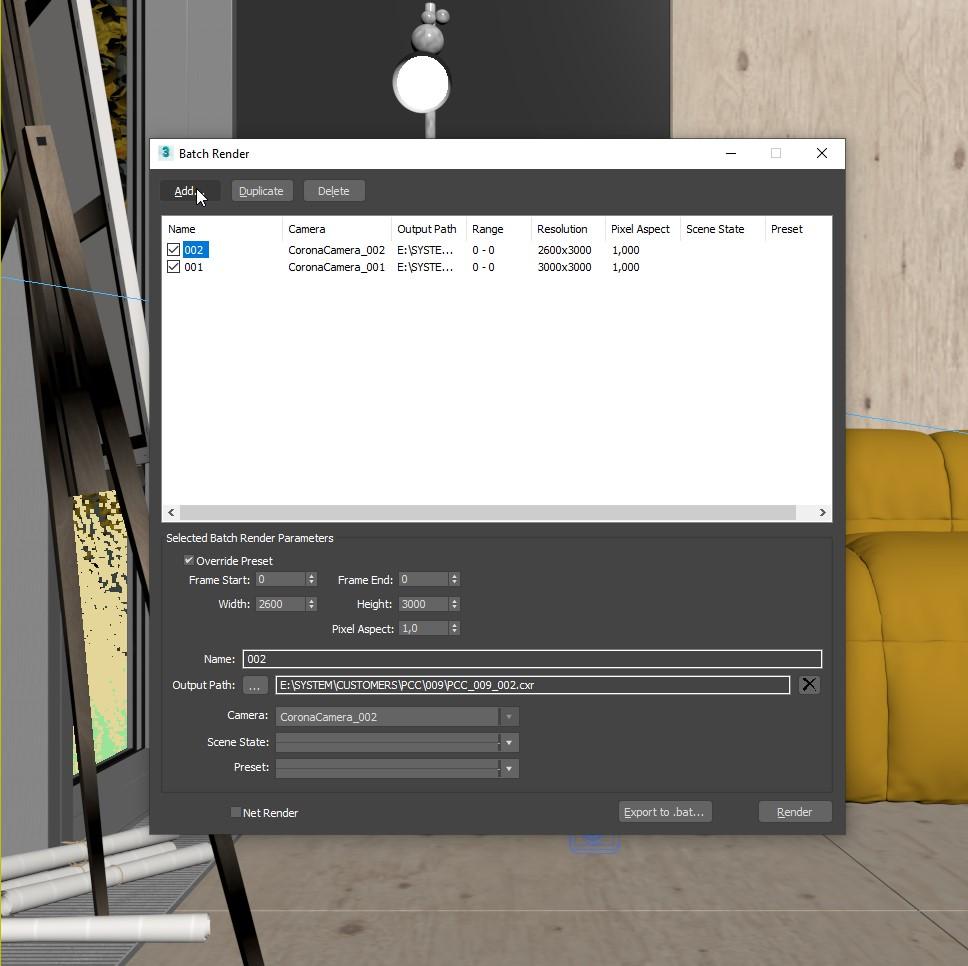3ds Max Ustawienie kamery oraz renderowania 11
