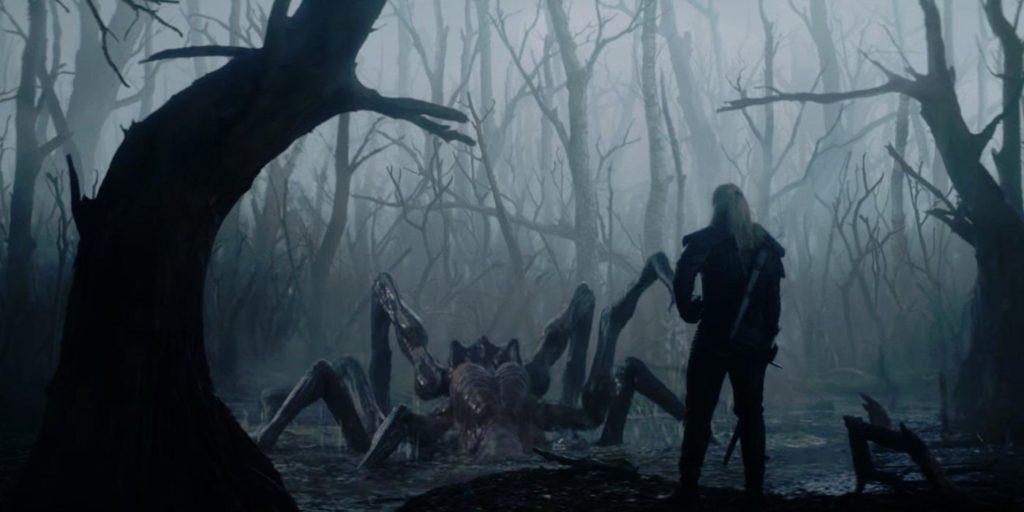 GAMEDEV Fragment z serialu Wiedźmin od Netflixa