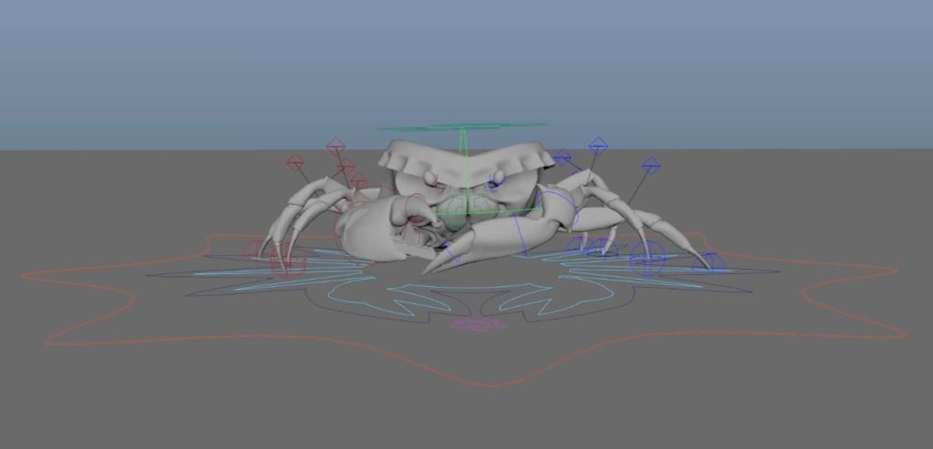 Hybrids animacja stworzona w Maya 2