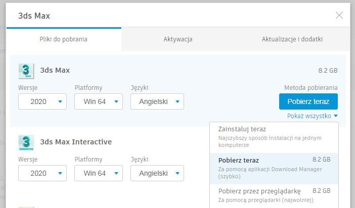 Instalacja programów Autodesk poradnik 4
