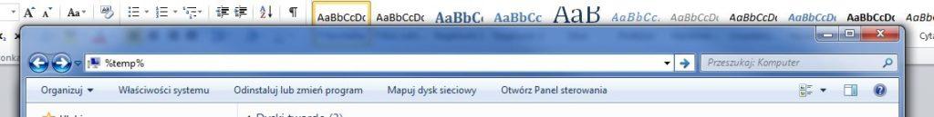 Instalacja programów Autodesk poradnik 1 folder TEMP