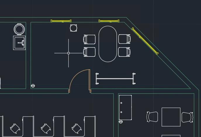 AutoCAD layout