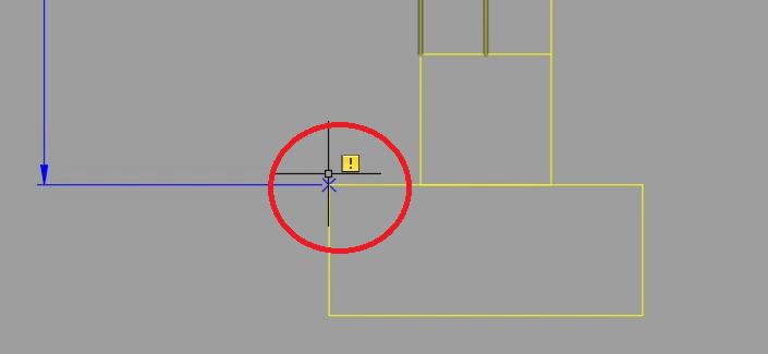 AutoCAD usunięcie jednego kierunku 1
