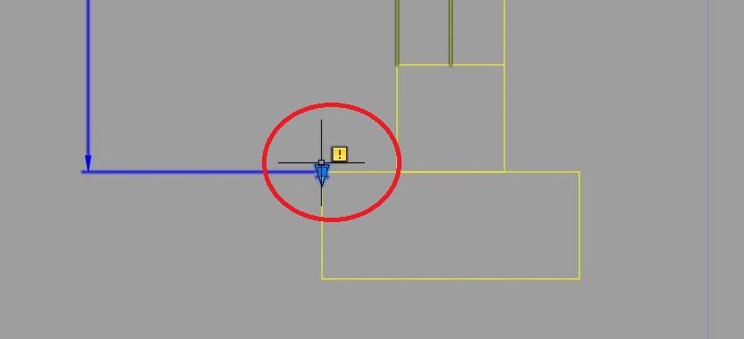 AutoCAD usunięcie jednego kierunku
