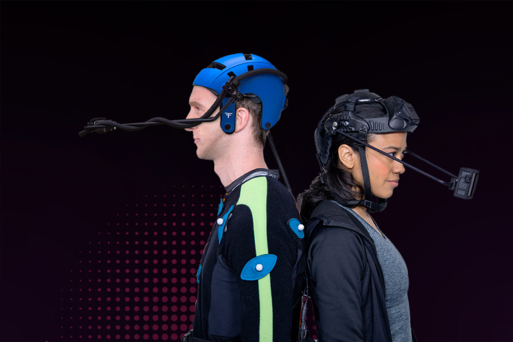 Faceware motion capture twarzy Faceware Mark IV Wirelles Headcam System
