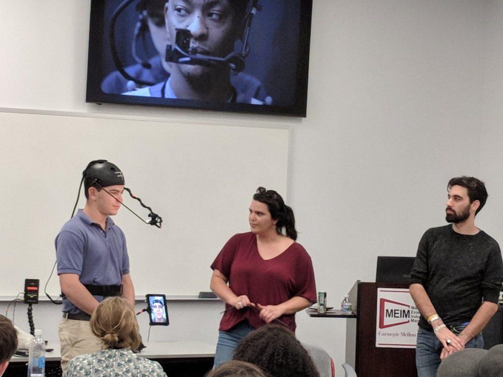 Faceware motion capture twarzy dla uczelni