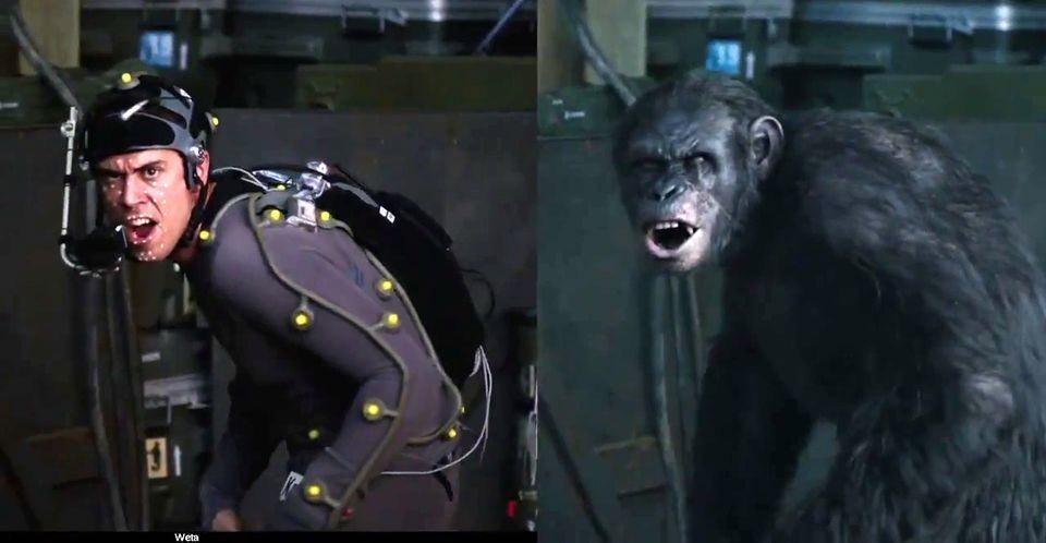 Motion capture tworzenie filmowych postaci - Planeta Małp