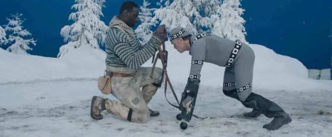 Motion capture tworzenie filmowych postaci - zew natury pies buck MoCap