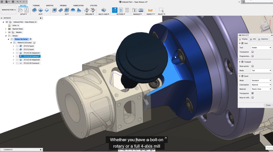 Fusion 360 – Manufacturing Extension