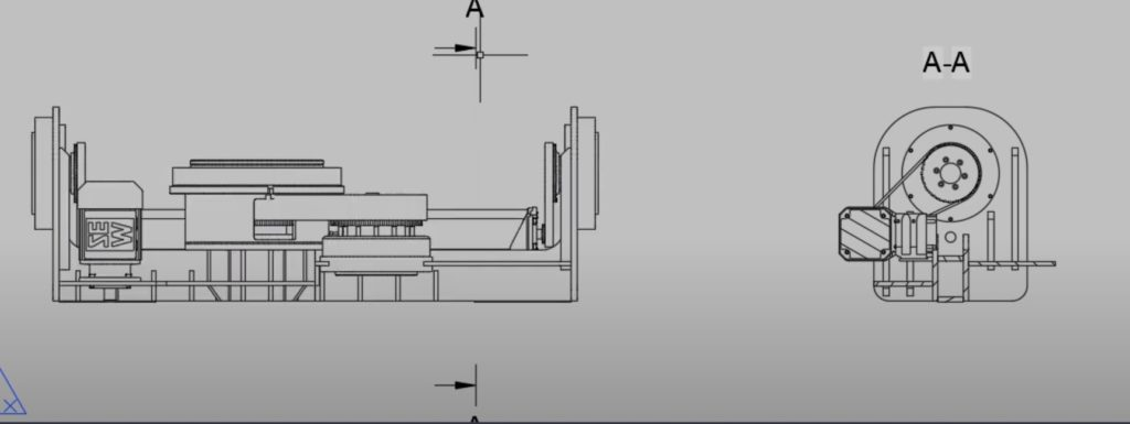 Przeniesienie modelu 3D Inventora na rysunek płaski AutoCAD 6