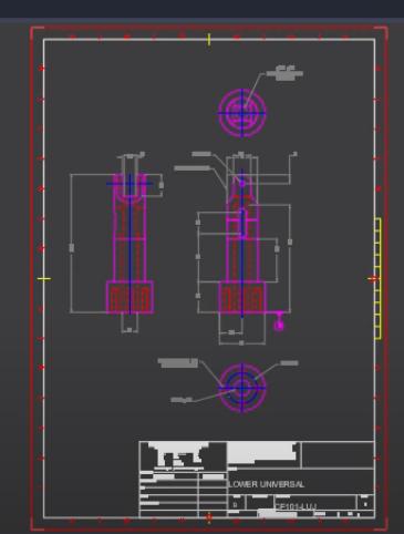 Wykorzystanie rysunku 2D do utworzenia modelu 3D 1