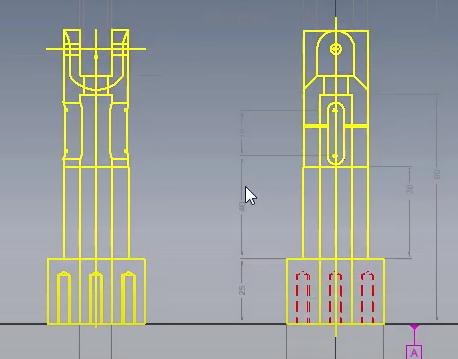 Wykorzystanie rysunku 2D do utworzenia modelu 3D 3